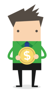 FFC Business Man Green Shirt Holding Coin-01