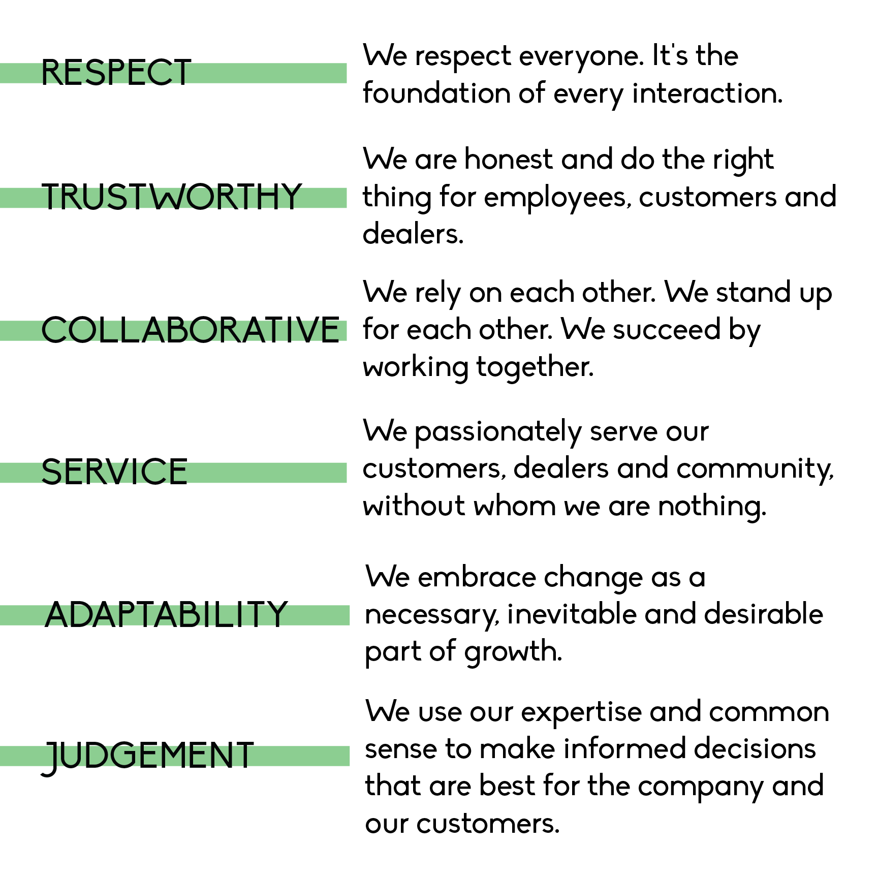 Values Web